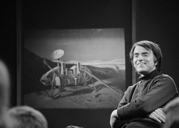 Dr. Carl Sagan, January 28, 1974.