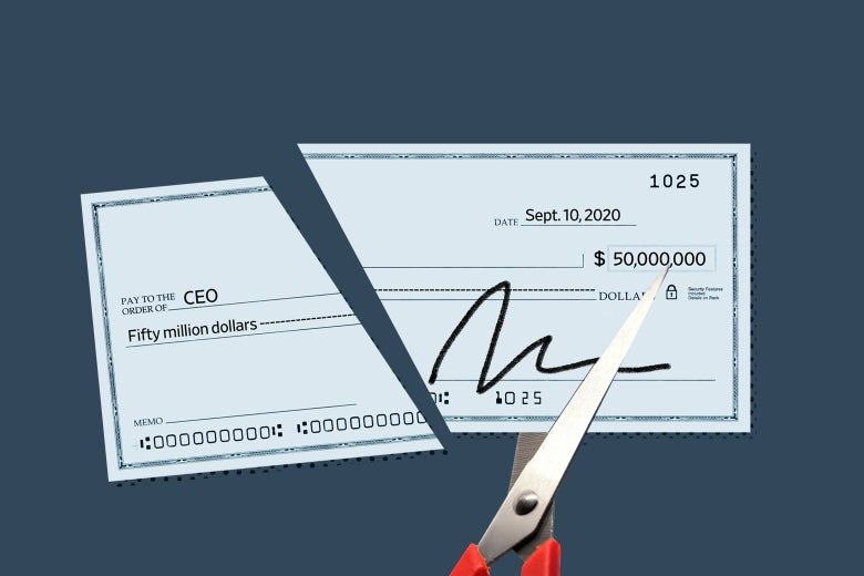 A check for $50 million, cut.