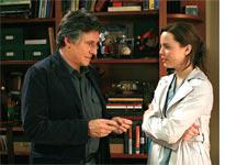Gabriel Byrne and Melissa George in In Treatment          Click image to expand.