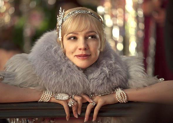Carey Mulligan as Daisy in The Great Gatsby.