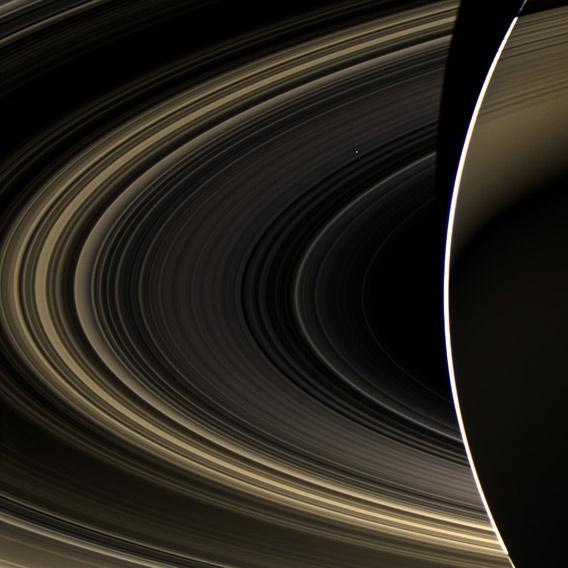 Venus from Saturn