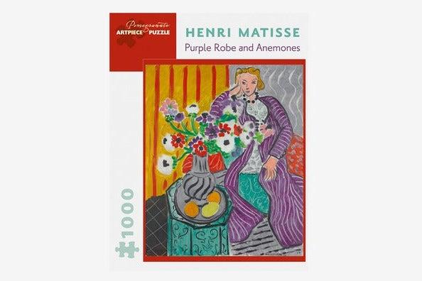 "Pomegranate Henri Matisse ""Purple Robe and Anemones"" 1000-Piece Puzzle"