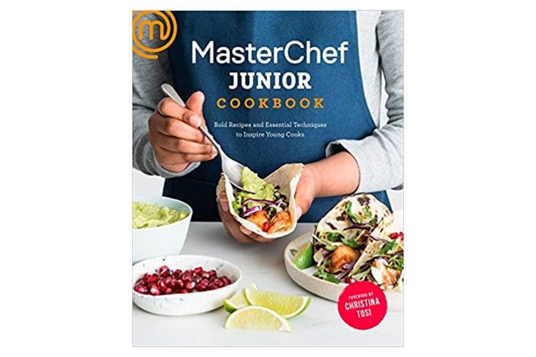 The cover of the MasterChef Junior Cookbook.