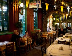 Greek taverna. Click image to expand.