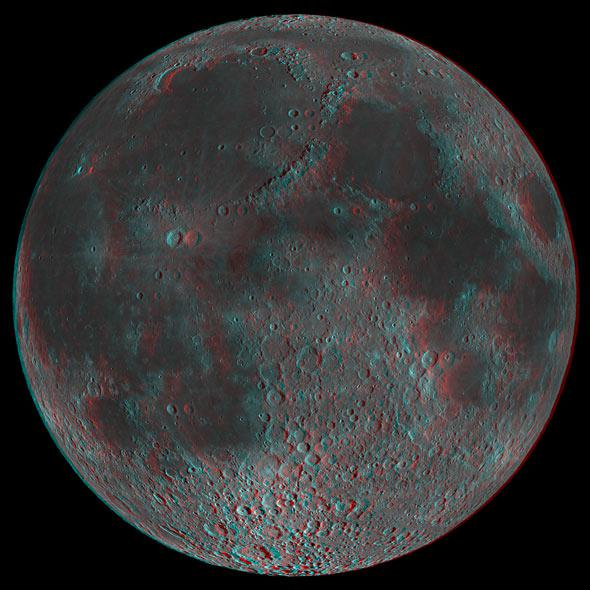 full Moon in 3D
