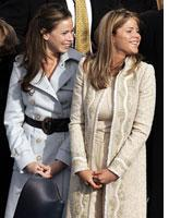 Jenna and Barbara Bush. Click image to expand.