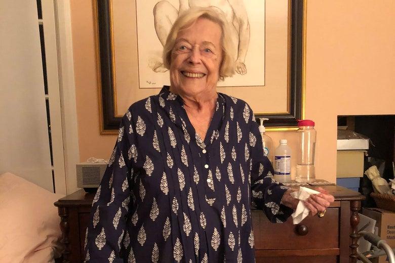 Recent photo of Betty Jean Shea.