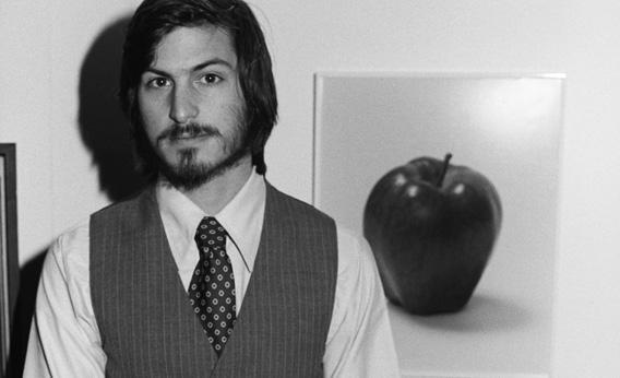 Steve Jobs in 1977