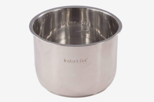 Genuine Instant Pot Stainless Steel Inner Cooking Pot, 6-Quart.