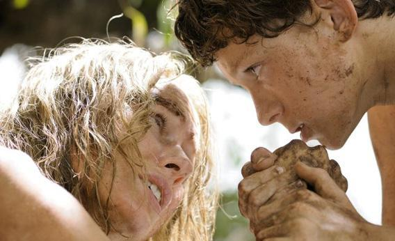 Naomi Watts and Tom Holland in The Impossible.