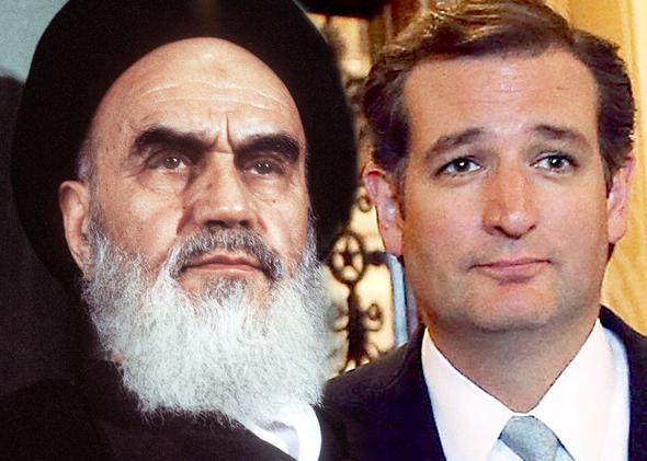 Ayatollah Ruhollah Khomeini, Ted Cruz