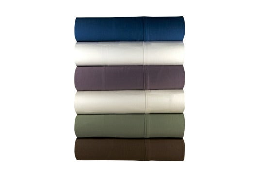 Various colors of Magnolia Organics sheet set.