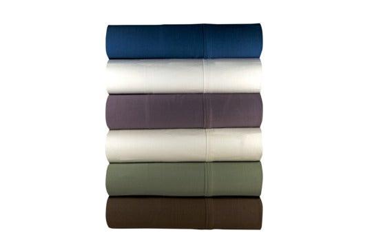 Various colors of Magnolia Organics sheet set.