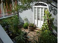 Adolph courtyard garden. Click image to expand.