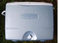 Rubbermaid Endurance Cooler.