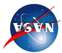NASA logo upside down