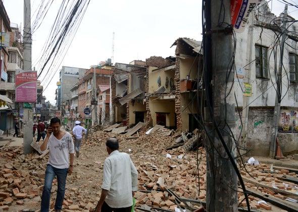 Nepal earthquake.