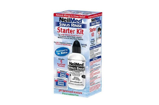 Neilmed Sinus Rinse Starter Kit.