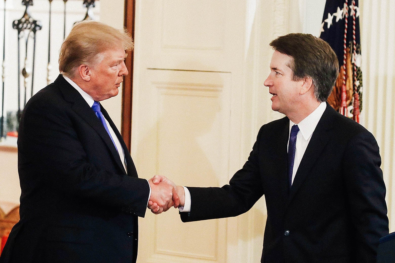 President Donald Trump introduces Judge Brett M. Kavanaugh.