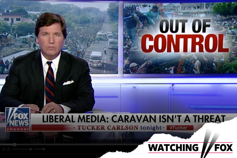 Tucker Carlson on Fox News.