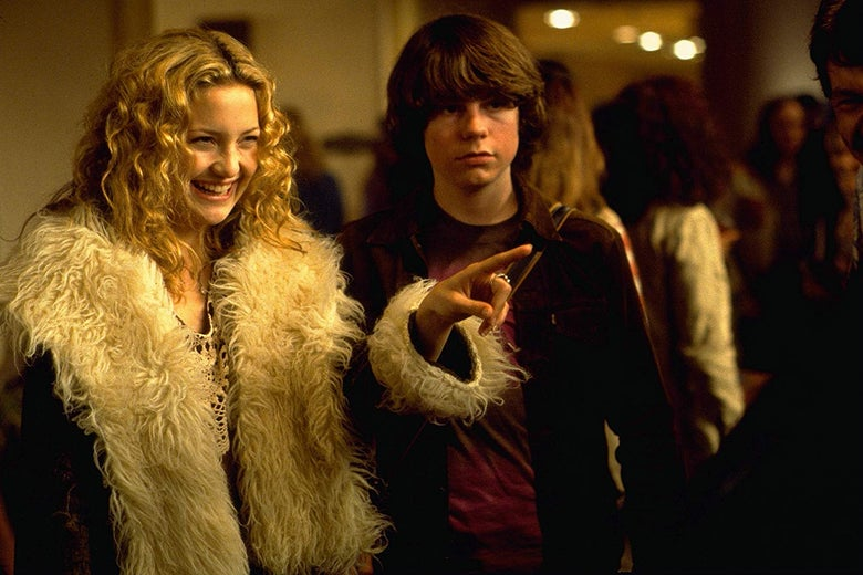 Kate Hudson and Patrick Fugit in Almost Famous.