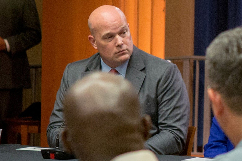 Acting Attorney General Matthew Whitaker once promoted hot