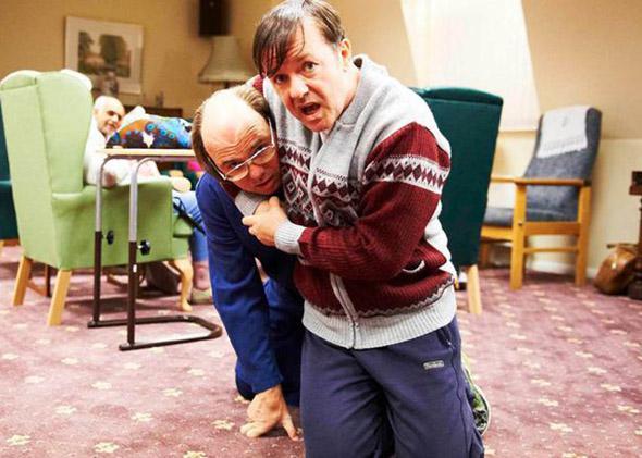 Ricky Gervais in Derek.