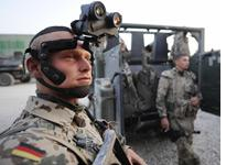 Soldiers of the German Bundeswehr Army. Click image to expand.