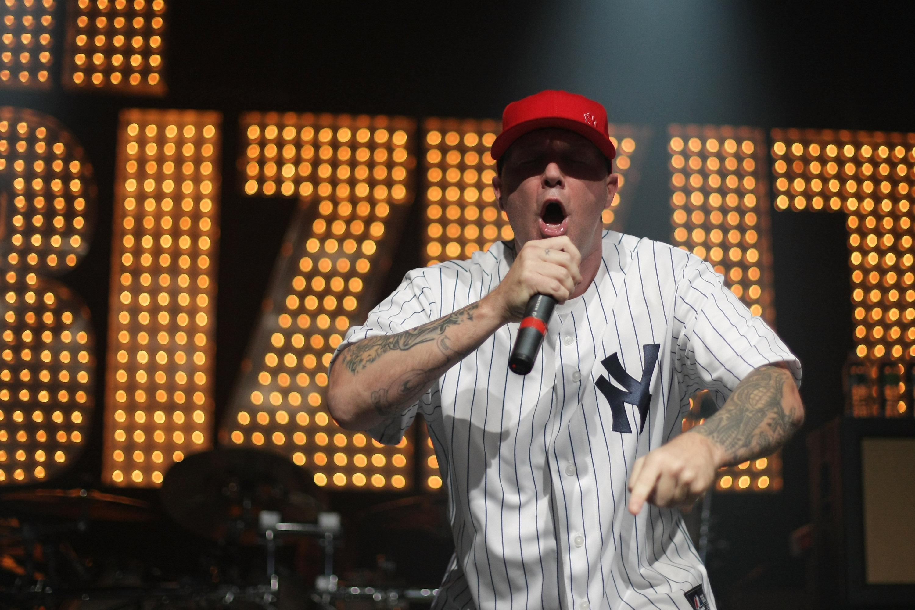 Fred Durst of Limp Bizkit performs in New York City in 2010.