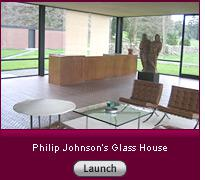 Click here to read a slide-show essay about Philip Johnson's Glass House.