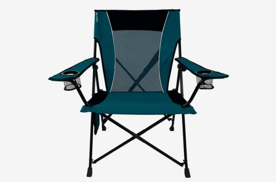 Kijaro Dual Lock Portable Camping and Sports Chair.