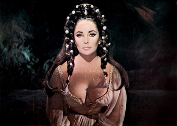 Liz Taylor as Helen of Troy