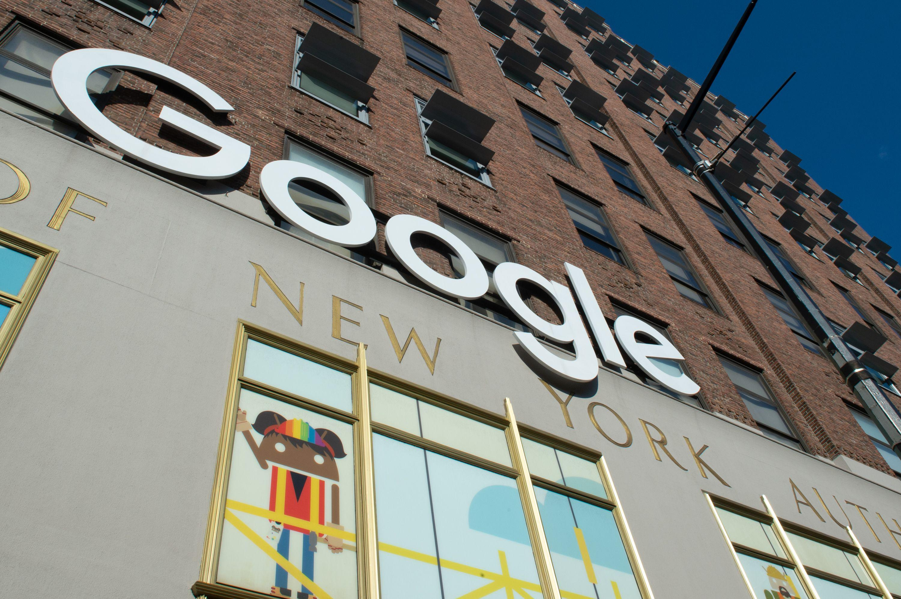 Google's New York headquarters.
