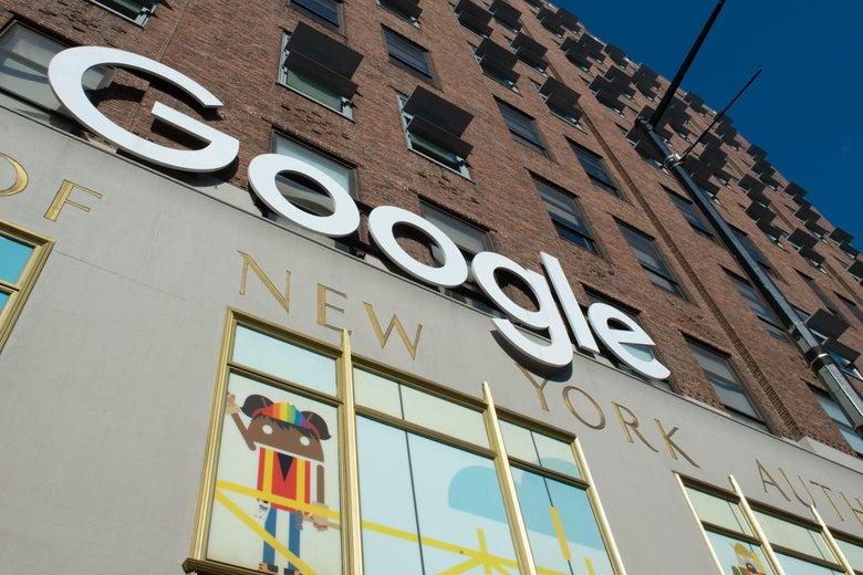 Google's New York headquarters.