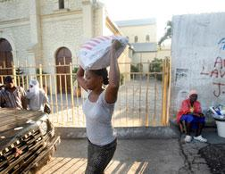 Rebuilding in Haiti. Click image to expand.