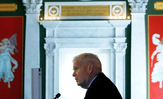 Librarian of Congress James Billington in 2009