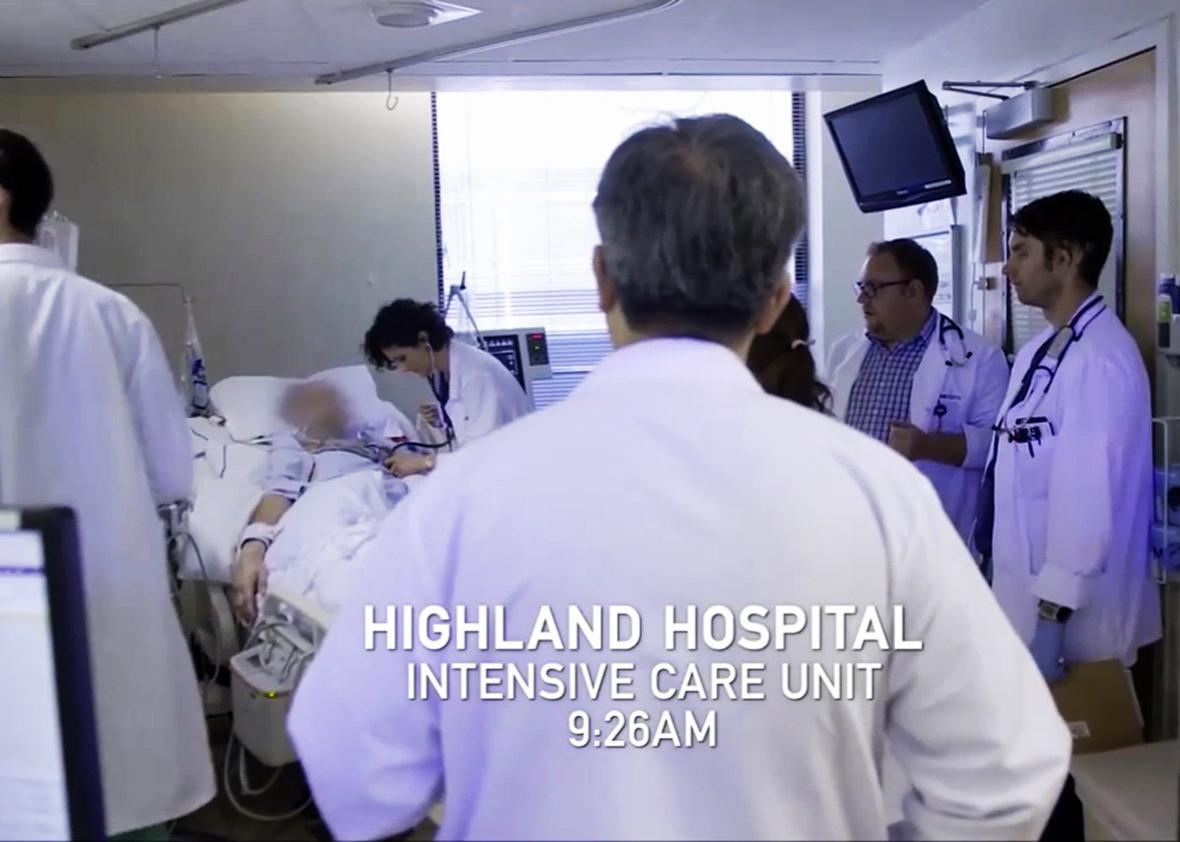 Netflix's new documentary Extremis shows the tension of end-of-life care.