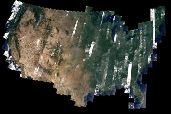 America from space