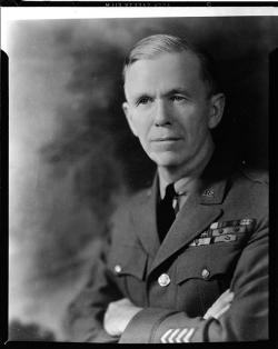 General George C. Marshall, chief of staff, in August 1940.