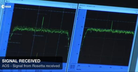 Rosetta signal