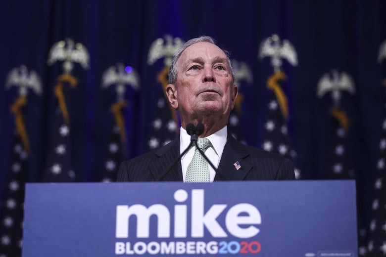 Let's Talk About That Time Mike Bloomberg Blamed Congress for the Financial Crisis