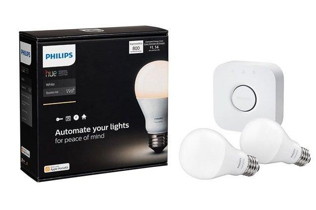 Philips Hue White A19 60W Starter Kit