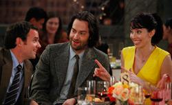 Dan O'Brien as Mark, Chris D'Elia as Alex Miller, Whitney Cummings as Whitney. Click image to expand.