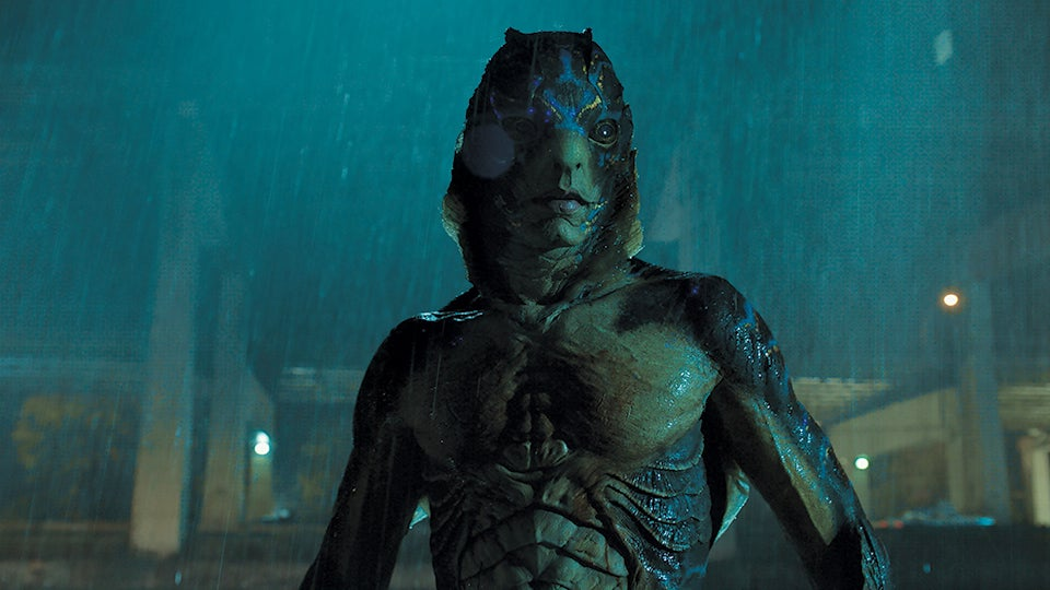 Doug Jones as the Amphibian Man in The Shape of Water