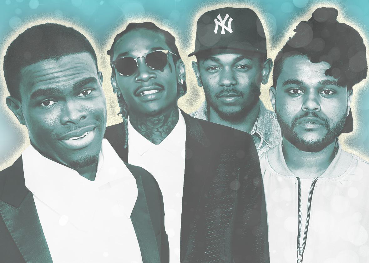 Black artist top pop charts.