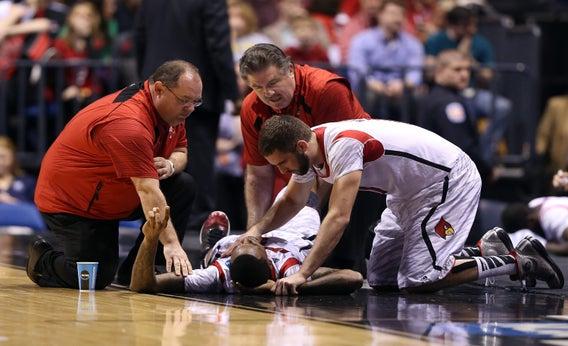 What happened at the duke louisville game injurybackuptype