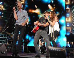 Lady Antebellum. Click image to expand.