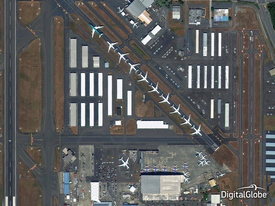 Boeing satellite image