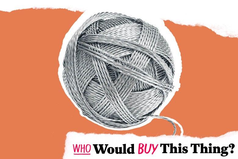 A Tiffany ball of yarn.