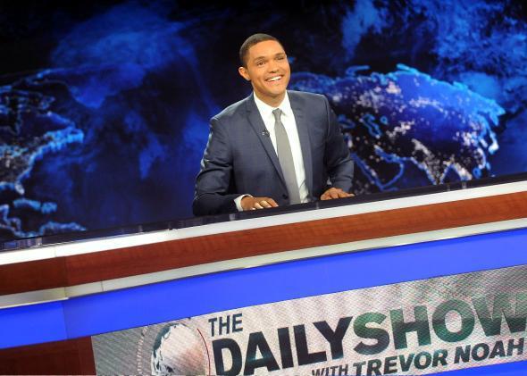"Trevor Noah hosts Comedy Central's ""The Daily Show with Trevor N"